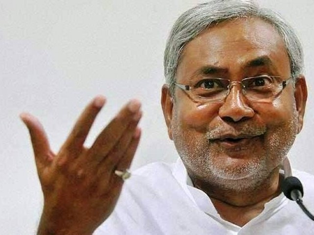 CM of Indian province Bihar Nitish Kumar says India and Pakistan share many common values. PHOTO: AFP/FILE