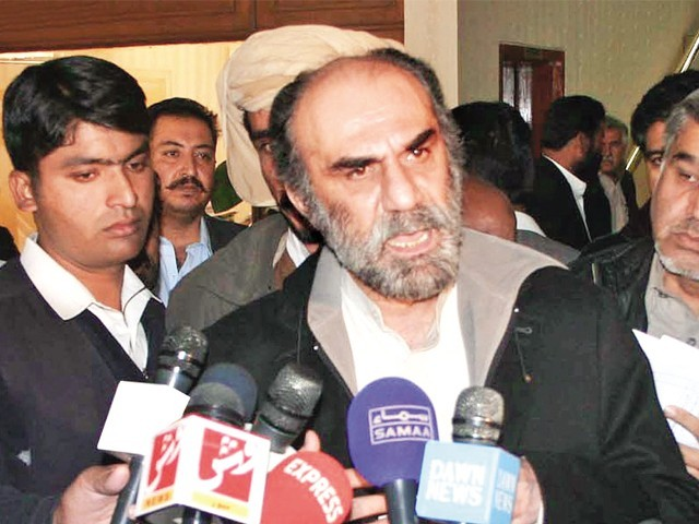 Raisani has already failed to ensure the presence of all provincial ministers at a special cabinet meeting that was convened by him in Gwadar on November 9. PHOTO: ONLINE/FILE