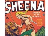 Sheena was the very first female comic book character to have her own series.