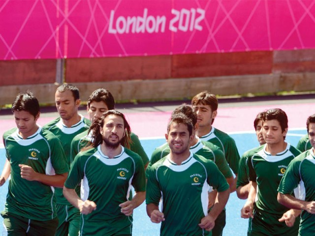 Pakistan's poor show in the London Olympics forced the team management to drop a lot of seniors, including captain Sohail Abbas. PHOTO: AFP