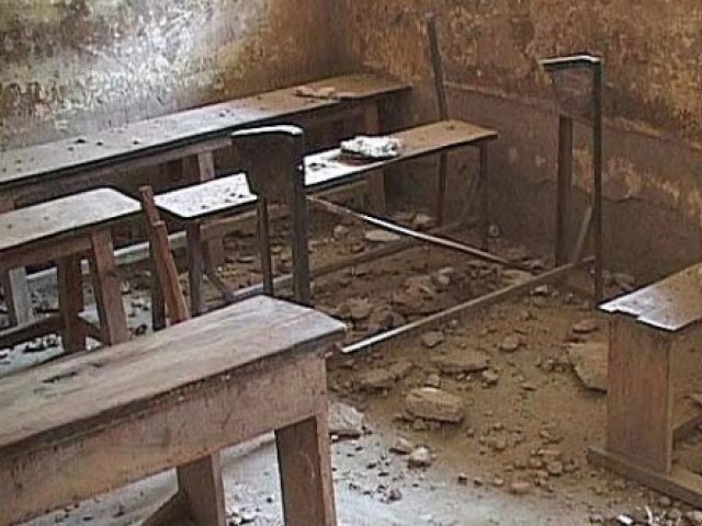 Only about half the government schools in the province have sanitation facilities. PHOTO: FILE