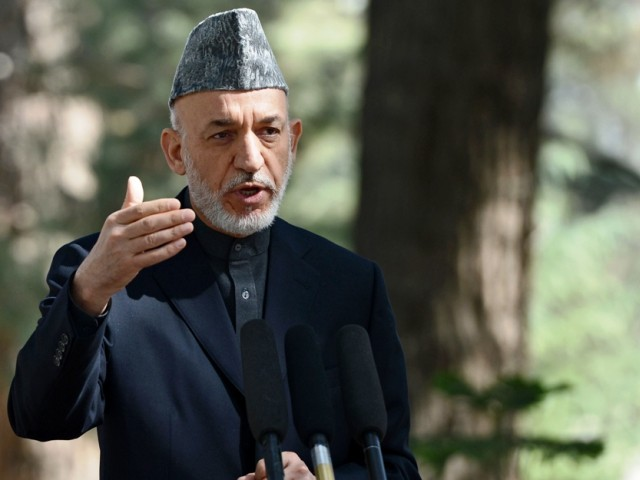 Afghan president urges Pakistan to fight the rising terrorism in the country.  PHOTO: AFP/FILE