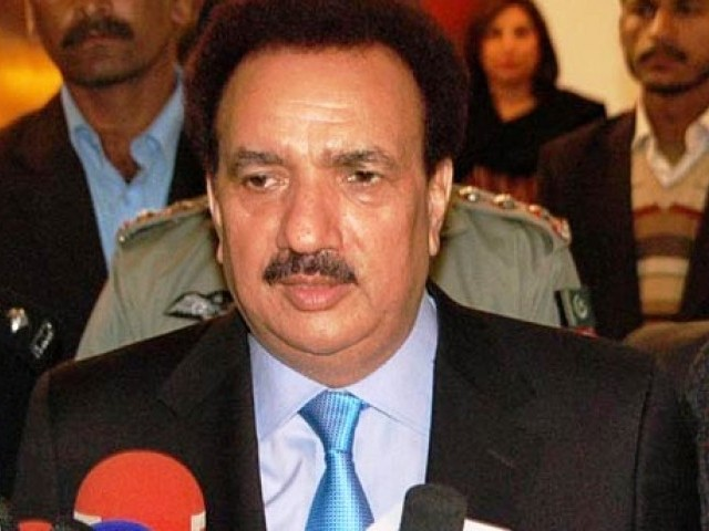Rehman Malik was due to attend India for the opreationalisation of the new visa regime. PHOTO: PID/FILE