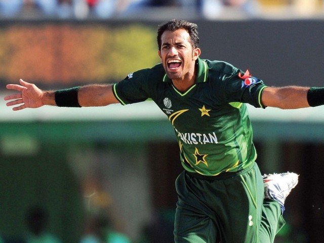 Discarded left-arm fast-bowler Wahab Riaz helped NBP thrash UBL by an innings and 49 runs. PHOTO: AFP/FILE
