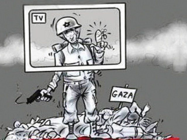 Image result for PALESTINE MEDIA CARTOON