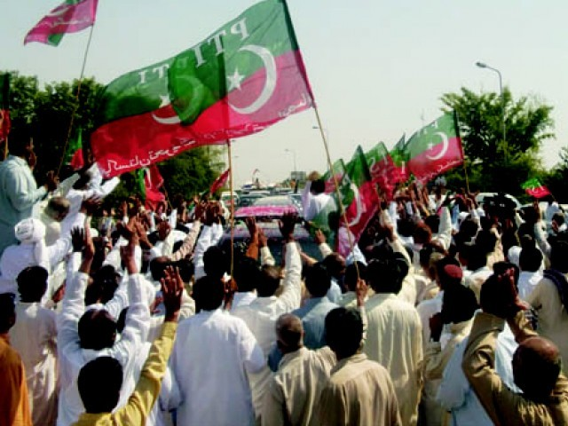Party leaders claim it has more than 7,000 workers in Shabqadar and over 47,000 workers in Charsadda district. PHOTO: FILE