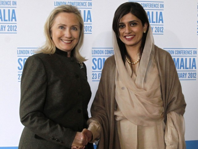 Clinton will seek to encourage an improving mood between Pakistan and Afghanistan. PHOTO: REUTERS/FILE