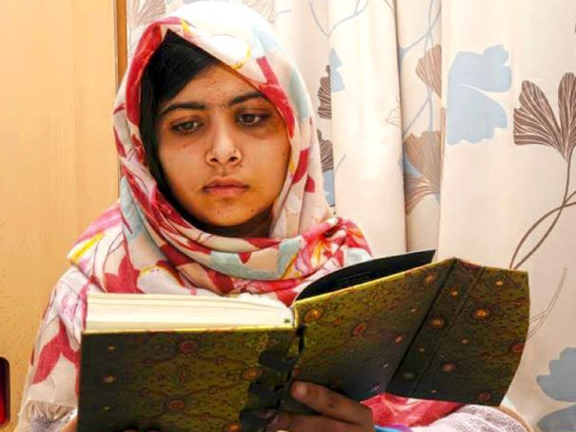 Over the past months, malala has received messages of support from across the globe with some suggesting a Nobel Peace Prize for her. PHOTO: FILE
