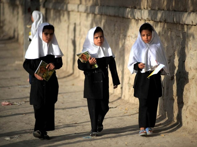 Taliban had outlawed education for girls during their five year regime. PHOTO: AFP/FILE