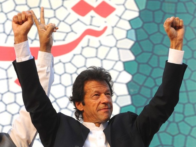 PTI chief says change is about to come, cannot be stopped by some 'lions of the circus'. PHOTO: AFP/FILE