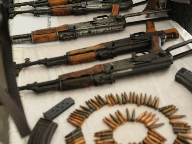 Government to launch targeted operation to collect illegal weapons from key localities of capital. PHOTO: AFP/FILE