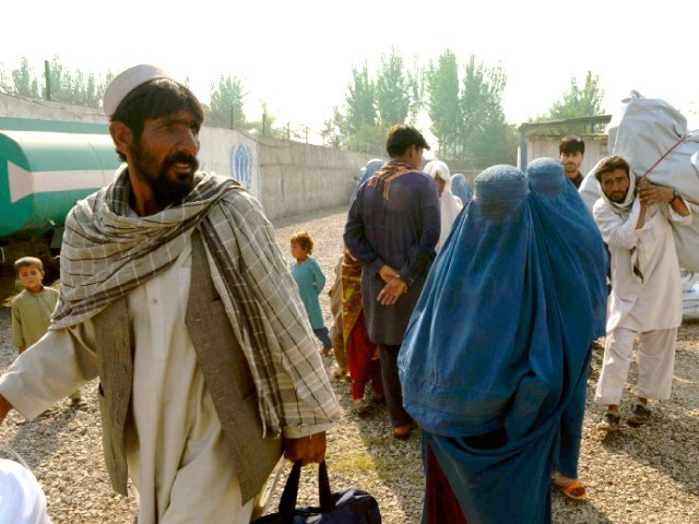 Afghan nationals were given Pakistani CNICs and passports fraudulently. PHOTO: AFP/FILE
