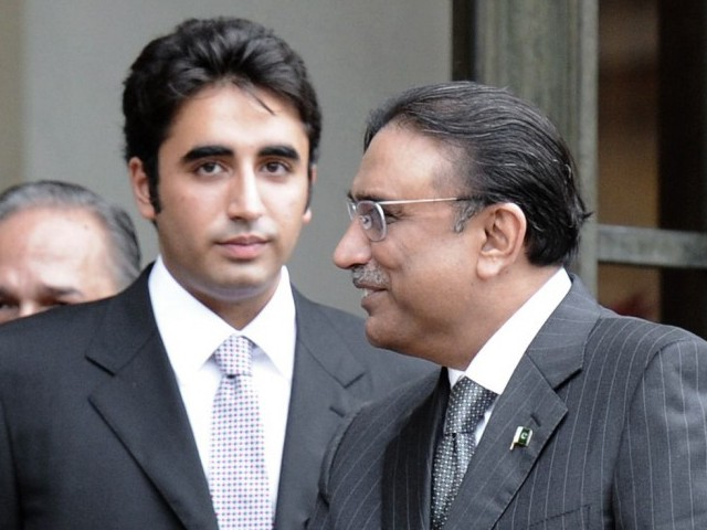 Will Bilawal clash with his father? Will the party change or remain essentially the same? PHOTO: AFP/FILE