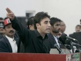 Bilawal Bhutto Zardari, son of assassinated former Pakistani prime minister Benazir Bhutto, makes a speech to launch his political career during the fifth anniversary of his mother's death, at the Bhutto family mausoleum in Garhi Khuda Bakhsh, near Larkana December 27, 2012. PHOTO : REUTERS