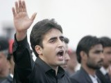 Bilawal Bhutto Zardari, son of assassinated former Pakistani prime minister Benazir Bhutto, makes a speech to launch his political career during the fifth anniversary of his mother's death, at the Bhutto family mausoleum in Garhi Khuda Bakhsh, near Larkana December December 27, 2012. PHOTO : REUTERS