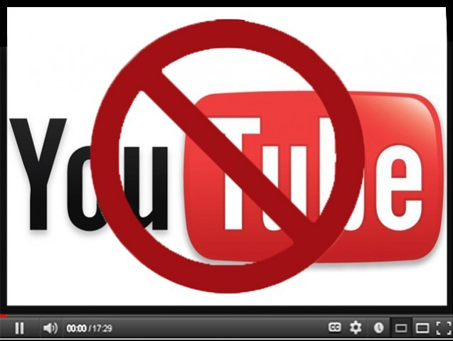 YouTube has been blocked since September 17, 2012. PHOTO: FILE