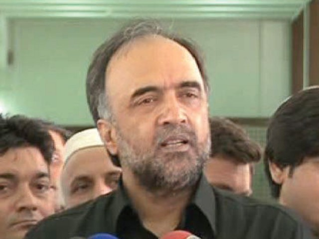 PPP leader suggests Qadri get voted into the parliament and then talk about change. PHOTO: FILE