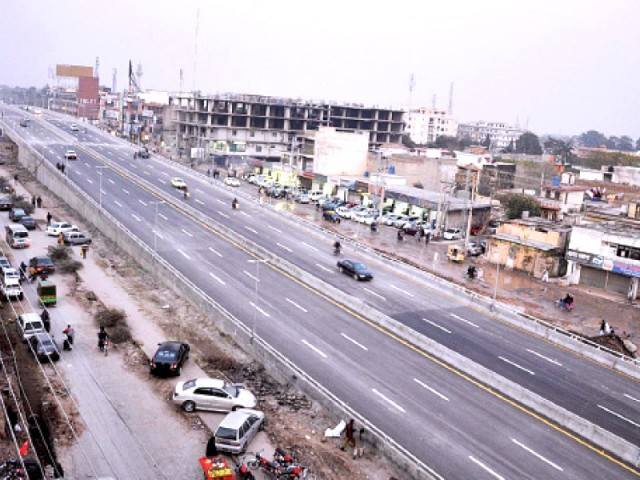 The early completion will also help the contractor to complete the service roads as early as possible. PHOTO: ONLINE