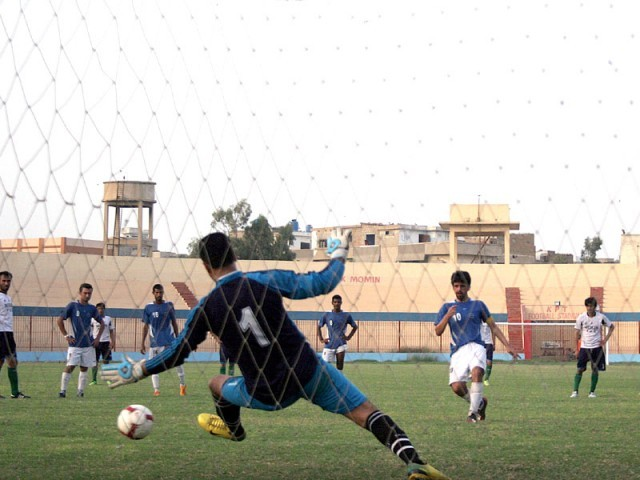 Goal-keeper Jaffar confident team will retain last year's silver medal. PHOTO: EXPRESS/FILE