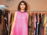 Abeer. The multi brand store Couture celebrates its first anniversary in Karachi. PHOTO COURTESY IMRAN FAREED