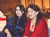 Ayesha and Fatima. Destinations Eventz organises Nida Faiz's ghazal night in Lahore. PHOTO COURTESY DESTINATION EVENTZ PR