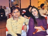 Jamil and Nazia. Destinations Eventz organises Nida Faiz's ghazal night in Lahore. PHOTO COURTESY DESTINATION EVENTZ PR
