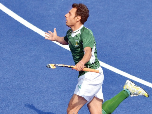 Former captain Rehan Butt is looking forward to the World Series Hockey in India. PHOTO: AFP