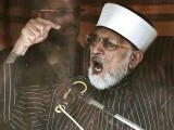 Leader of Minhaj-ul-Quran International Tahirul Qadri addresses his supporters from behind the window of an armoured vehicle on the second day of protests in Islamabad January 15, 2013. PHOTO: REUTERS