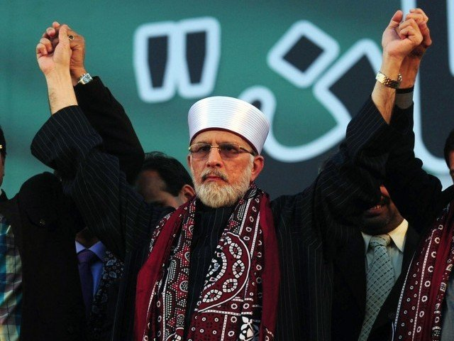 File photo of Tahirul Qadri. PHOTO: AFP/ FILE