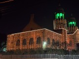 The Lahore High Court decked out in lights ahead of Eid Miladun Nabii. PHOTO: PPI
