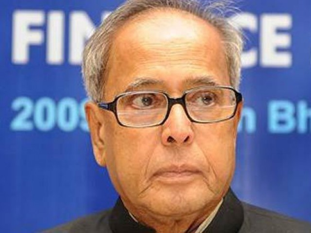 A file photo of Indian Prime Minister Pranab Mukherjee. PHOTO: AFP