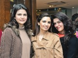 Amina, Saba and Saira. Enem store launches international brands like Cerruti, Mont Blanc, Cartier, ST Dupont, Moreschi, Dior, Marks & Spencer and Zara in Lahore. PHOTO COURTESY QYT EVENTS PR
