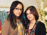 Amna and Ainnie. Fiction Concepts by Rabia Wahab launches in Lahore. PHOTO COURTESY BILAL MUKHTAR EVENTS & PR