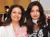 Farah and Gul. Fiction Concepts by Rabia Wahab launches in Lahore. PHOTO COURTESY BILAL MUKHTAR EVENTS & PR