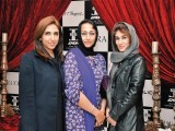 Fatima, Yasmin and Henna. Enem store launches international brands like Cerruti, Mont Blanc, Cartier, ST Dupont, Moreschi, Dior, Marks & Spencer and Zara in Lahore. PHOTO COURTESY QYT EVENTS PR