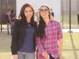 Maria Mahesar and Aamina Rashid Khan. Red Bull announces the second edition of Red Bull College Cricket in Karachi.
