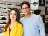 Mr and Mrs Shams. Enem store launches international brands like Cerruti, Mont Blanc, Cartier, ST Dupont, Moreschi, Dior, Marks & Spencer and Zara in Lahore. PHOTO COURTESY QYT EVENTS PR