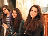 Rija, Fatima and Jugnu. Indus Raag launches in London. PHOTO COURTESY IDEAS EVENTS PR