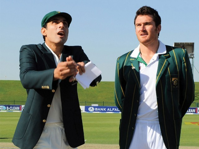 The series will be a test for both captains – Misbah and Smith – as one has to ensure the continuity of South Africa's supremacy while the other will lead an unpredictable Pakistan. PHOTO: AFP
