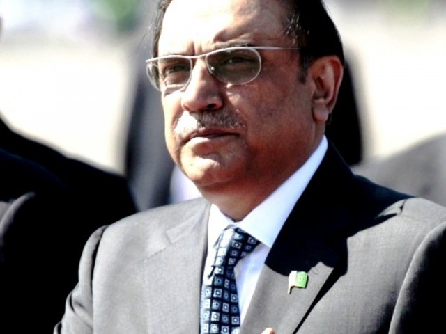 File photo of President Asif Ali Zardari. PHOTO: REUTERS/ FILE