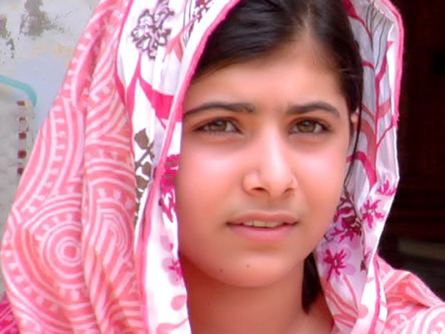 Malala Yousafzai. PHOTO: FILE