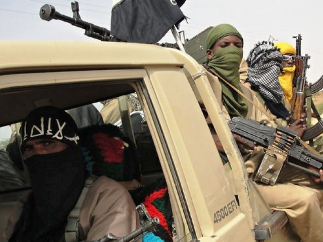 A file photo of fighters from Mali. PHOTO: AFP