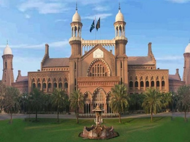 The court adjourned the hearing till February 6. PHOTO: lhc.gov.pk