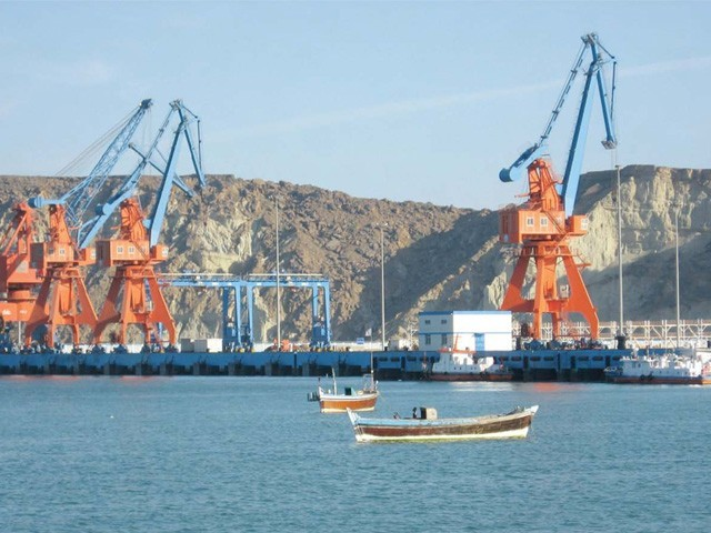 Pakistan approved a deal transferring management of Gwadar port on the Arabian Sea from a Singapore company to China. PHOTO: FILE