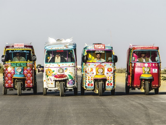 Armed with messages of peace, the Pakistan Youth Alliance is set to send out 50 rickshaws into the streets of Karachi.