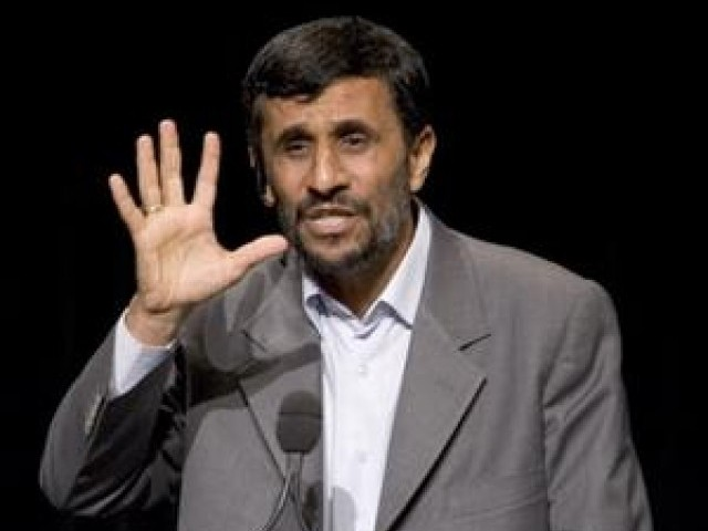A file photo of Iranian President Mahmoud Ahmadinejad. PHOTO: FILE