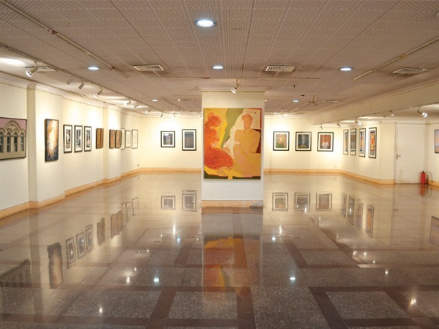 art beyond borders gallery 6 takes pakistani artists to india the