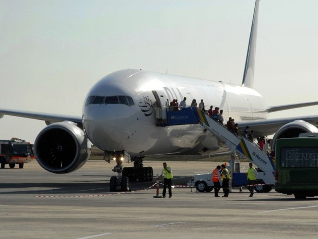 File photo of a PIA aircraft. PHOTO: REUTERS/FILE
