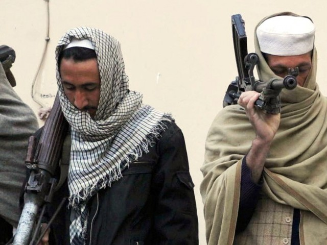 A file photo of Taliban fighterS. PHOTO: AFP