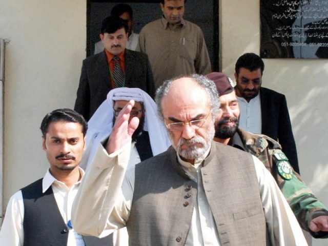 Former chief minister Nawab Aslam Raisani was blamed for many of the province's ills. PHOTO: FILE